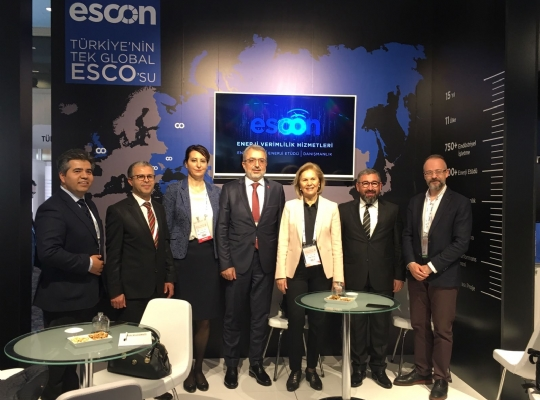 ESCON participated in the 9th EVF Forum and Fair.  Sector representatives came together at the 9th Energy Efficiency Forum and Fair (EVF), which took place on 29-30 March 2018 at the Lütfi Kırdar Congress and Exhibition Hall.